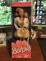 1989 Mattel Target Exclusive Gold & Lace Barbie Doll #7476 NIB - $16.95
