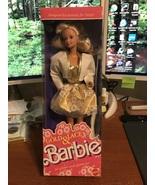 1989 Mattel Target Exclusive Gold & Lace Barbie Doll #7476 NIB - $16.95