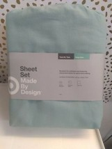 Solid Easy Care Sheet Set (twin/twin Extra Long) Dark Gray - Made By Design - image 2