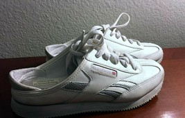 Reebok Classic Mule Women's Size 7.5 - White and Silver - Gently Used - $29.69