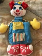 Vintage 1984 Playskool #19 Gitterbett Clown nur Kein Spielzeug in Taschen - $39.64