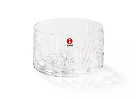 IIttala Flora by Oiva Toikka Med-Small Glass Bowl - 100 mm - [Finland] - $24.09