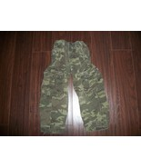 Boys The Childrens Place Camo Cargo Pants Size 5 Adjustable - $1.99