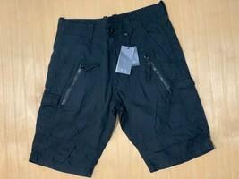 Armani Exchange Authentic Utility Zipper Detail Shorts Black Nwt - $49.99