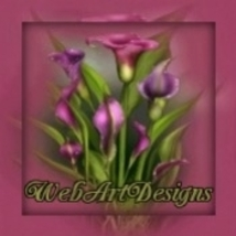 Beautiful Animated Rose Colored Floral Glitter Template, Banner, Avatar ... - $13.99