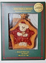 """Boyds Bearstone Ornament- """"Twinkles"""" - #25777LB- Longaberger Exclusive - $29.99"""