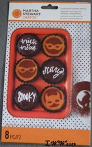 Martha Stewart Crafts 8 Halloween Cookie and Cupcake Stencils Animal Mas... - $5.99