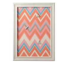 "Midwest 24"" Petit Bazaar Multicolored Zig-Zag Magnet Board 3 Arrow Magnets - $48.25"