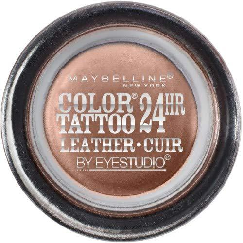 Maybelline Eye Studio Color Tattoo Leather 24Hr Cream Gel Eyeshadow, Creamy Beig - $29.39