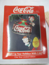 Enesco Coca-Cola Light Up Your Holidays With Coke Ornament- NIP - $25.25