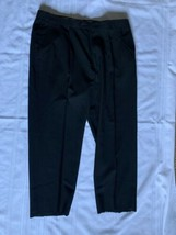 Racquet Club Mens Black Slacks/Dress Pants Sz 40 - $30.84