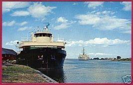 Cheboygan Michigan Oil Tanker Ship Cutter Mackinaw Mi - $4.00
