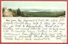 FULTON CHAIN LAKES Adirondack Mtns UDB Postcard BJs - $7.50