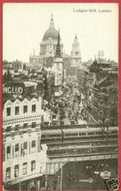 London Ludgate Hill Post card Postcard BJs - $10.00