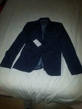 NWT ZARA MAN Navy Blue Suit Jacket Blazer Sz 48   US 19 - $65.44