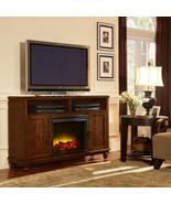 Pleasant Hearth Brighton Media Electric Fireplace, TV Entertainment Stan... - $579.99