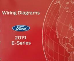 2019 Ford E-Series Econoline Harness Electrical Diagram Manual OEM EWD ETM - $29.64
