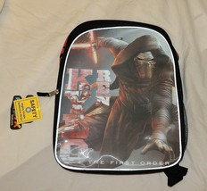 "New Star Wars Last Jedi Kylo Ren Backpack Bookbag Disney Force Awakens 16"" - $14.84"