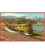 White Pass Yukon RR Train Alaska Postcard - $5.00