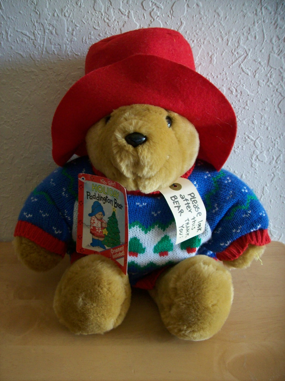 Holiday Paddington Bear by Kids Gifts