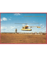 Oscoda Mi Postcard US H13 Helicopter Jets Wurtsmith AFB - $6.00