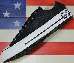 CONVERSE Chuck Taylor ALL-STAR OX 70 SAMPLE Gor-Tex Black Leather [16322... - €86,84 EUR
