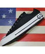 CONVERSE Chuck Taylor ALL-STAR OX 70 SAMPLE Gor-Tex Black Leather [16322... - $94.44