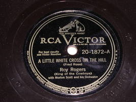 Roy Rogers 78 rpm record vintage RCA Records - $34.99