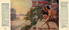 Edgar Rice Burroughs - Tarzan Of The Apes Faksimile Dust -umschlag 1. Gr... - $22.61