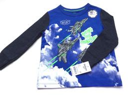 Oshkosh Boys Cotton Long Sleeve Graphic T Shirt Size 2 T Reflective Mate... - $10.66