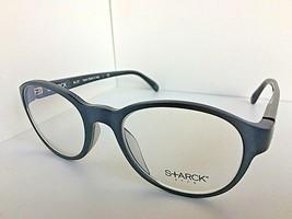 New STARCK Eyes Alain Mikli SH 2011 0003 49mm Round Matte Teal Eyeglasse... - $149.99