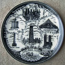 Vintage Chicago Illinois Ceramic Souvenir State... - $78.99