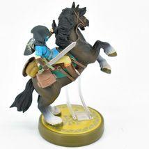 Nintendo The Legend of Zelda Breath of the Wild Link Hooded Rider Loose Amiibo image 4