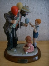 "Emmett Kelly JR. ""Making New Friends"" Figurine  - $175.00"