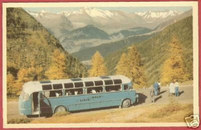 Primary image for BUS MOUNTAINS Linjebuss Int'l AB Stockholm Sweden BJs