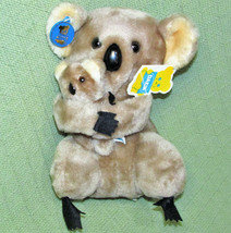 Vintage Dakin Nature Babies Koala Bear And Baby Stuffed Animal All Tags 1978 Toy - $29.70
