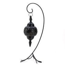 Lamp Candle, Decorative Modern Lacy Cutout Floor Candle Holder Lantern, ... - $41.99