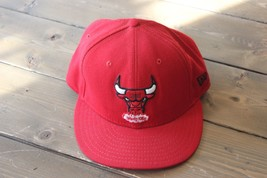 Fitted NEW ERA Chicago Bulls Hat 7 1/4 - £9.53 GBP