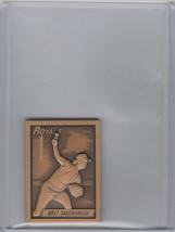 1990 Topps Gallery Of Champions Bronze Bret Saberhagen Royals - $2.00
