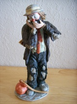 "Emmett Kelly JR. ""The Toothache"" Figurine  - $120.00"