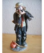 "Emmett Kelly JR. ""The Toothache"" Figurine  - $120.00"