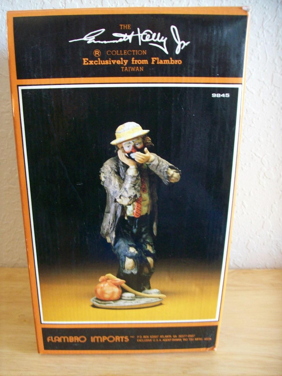 "Emmett Kelly JR. ""The Toothache"" Figurine"