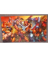 Masters Of The Universe vs Thundercats Glossy P... - $24.99