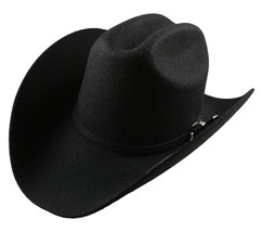 Men's Cowboy Hat El General Texana 5X Horma Durangense Color Black Wool - €32,43 EUR+