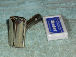 1961 Gillette Refurbished RePlated FatBoy Razor G2–27 - $125.00