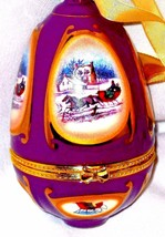 Musical Christmas Ornament  It Came Upon A Midnight Clear  CHRISTMAS  - $28.97