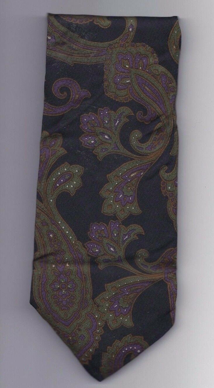 "Mens Geoffery Beene Polyester and silk Neck Tie 58"" long 3 1/2"" wide #3 Necktie image 1"