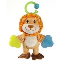 MUNCHKIN LION Baby Teether Rattle PLUSH Stuffed Toy Animal Munchkin Infa... - $11.90