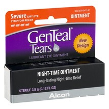 Alcon GenTeal Tears Severe Dry Eye Relief Night-Time Ointment, 0.12 FL OZ - $15.29