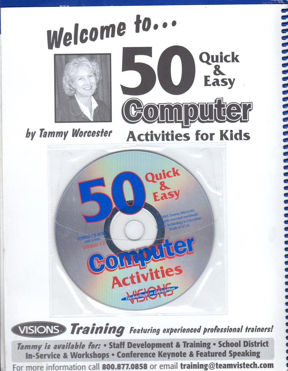 50 Quick & Easy Computer Activities for Kids